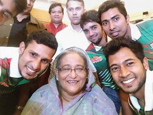 Bangladesh cricket team Selfie