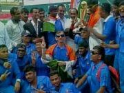 Blind India Cricket Team