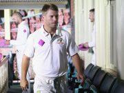 David Warner Aus v WI 3rd Test