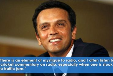 Quotes by Rahul Dravid