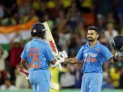Australia v India Shikhar Dhawan