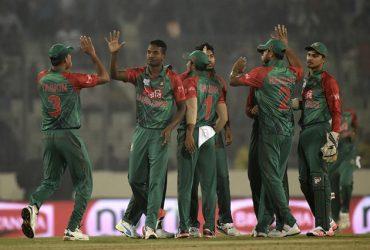 Bangladesh team wicket celebrations