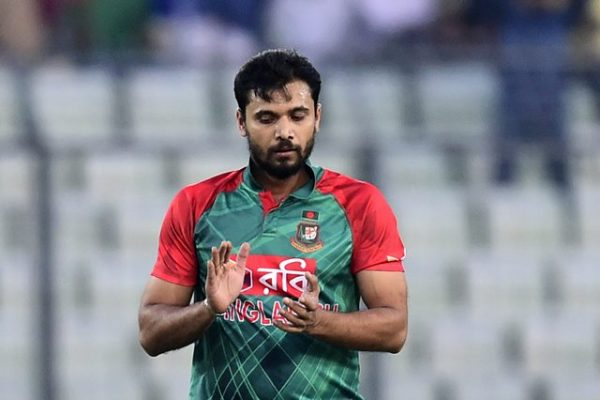 Bangladesh captain Mashrafe Bin Mortaza
