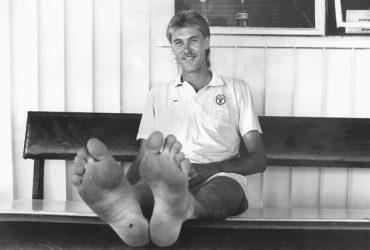 Australian bowler Bruce Reid