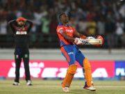 Dwayne Bravo Gujarat Lions