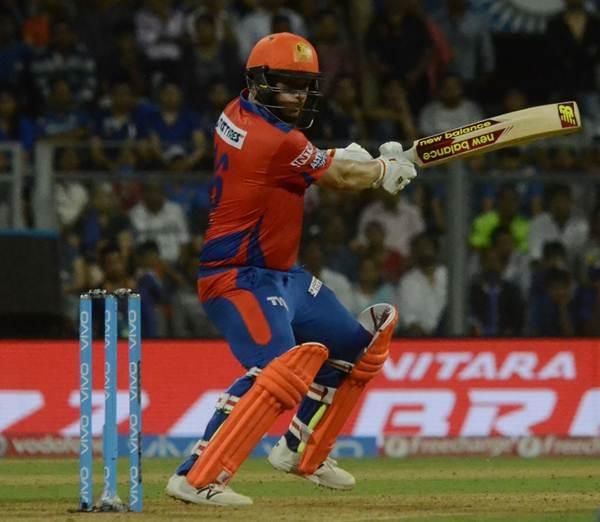 Gujarat Lions (GL) batsman Aaron Finch