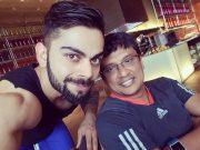 Virat Kohli and basu