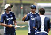 Harbhajan Singh and Sourav Ganguly