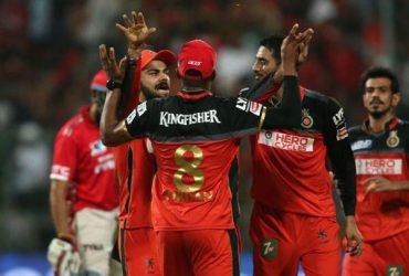 Royal Challengers Bangalore IPL 2016