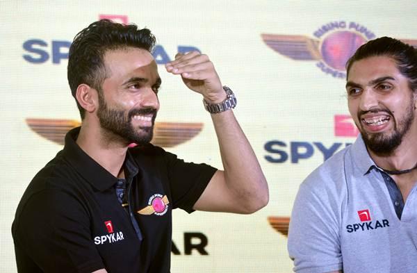 Ishant Sharma and Ajinkya Rahane.
