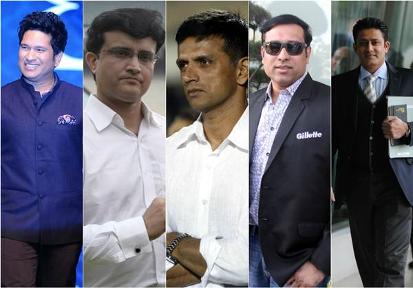 Fab Five of Indian cricket