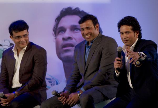 Sachin Tendulkar, VVS Laxman, Sourav Ganguly