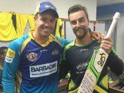 Alex Ross and AB de Villiers