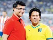 Cricketing trends Sachin Tendulkar with Sourav Ganguly