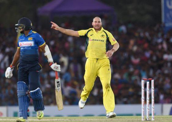 Australia vs Sri Lanka John Hastings