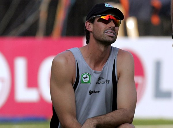 New Zealand captain Stephen Fleming