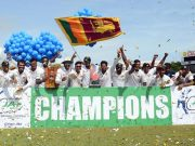Sri Lanka Test Team