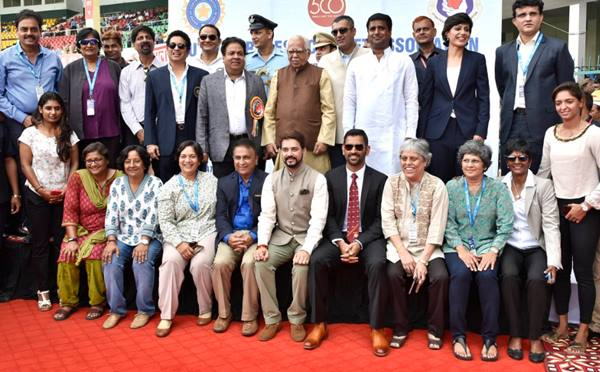 Former Indian skippers felicitated