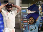 Indian cricket team captain Virat Kohli