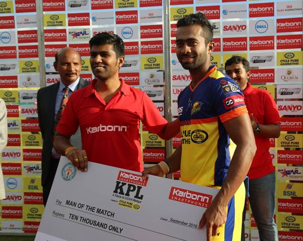 Arjun Hoysala. (Photo Source: Mysuru Warriors)