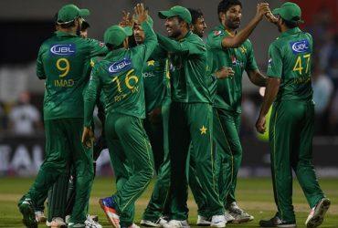 England and Pakistan