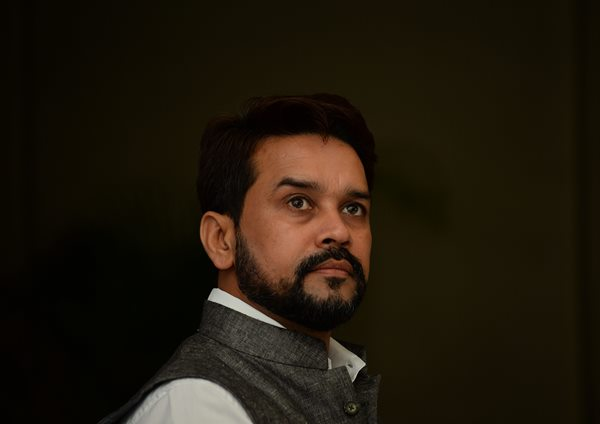 BCCI President Anurag Thakur