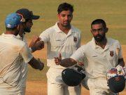 Ranji Trophy 2016-17 first-class Partnership