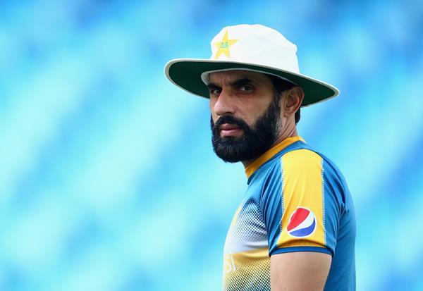 Misbah-ul-Haq of Pakistan