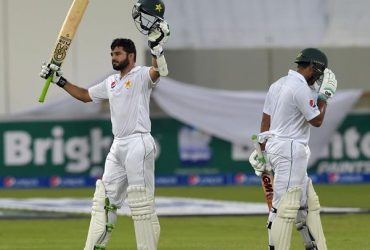 Pakistani batsman Azhar Ali