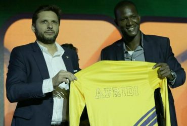 Shahid Afridi and Darren Sammy
