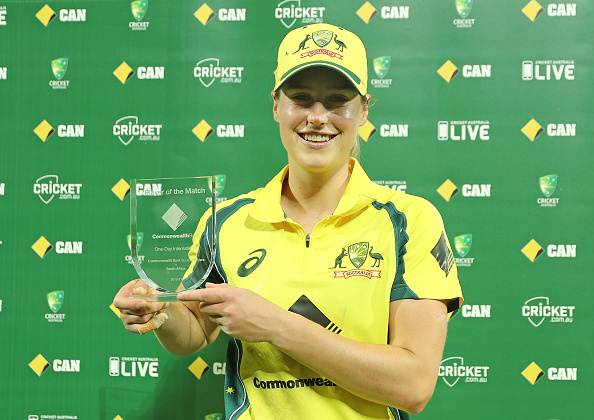Ellyse Perry of the Australia