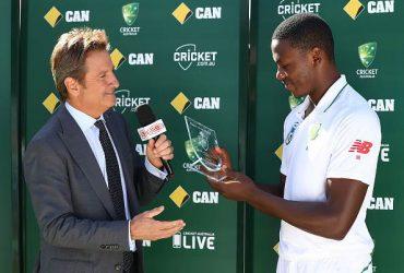 Kagiso Rabada of South Africa
