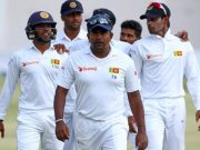 Rangana Herath of Sri Lanka