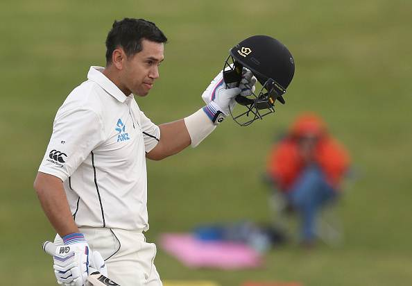 Ross Taylor of New Zealand