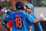 Virender Sehwag and Virat Kohli