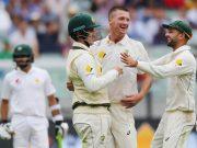 Jackson Bird of Australia in Boxing Day Test