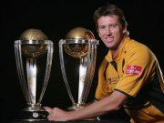 Glenn McGrath of Australia