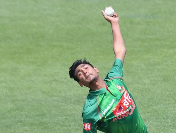 Mustafizur Rahman of Bangladesh