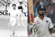 Sachin Tendulkar and Virat Kohli in their 50th Test