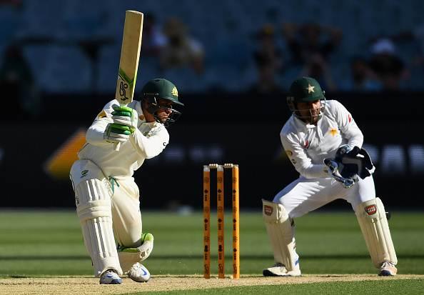 Usman Khawaja of Australia