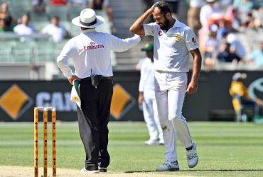 Pakistan bowler Wahab Riaz