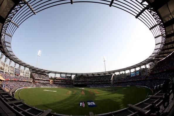 Wankhede stadium Mumbai Test