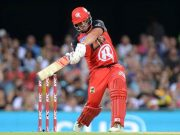 Aaron Finch of the Renegades