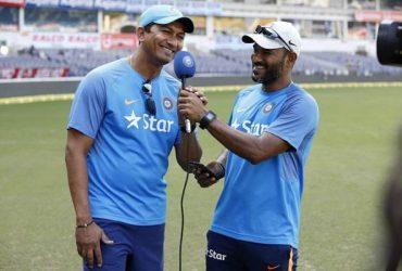 Sanjay Bangar and R Sridhar