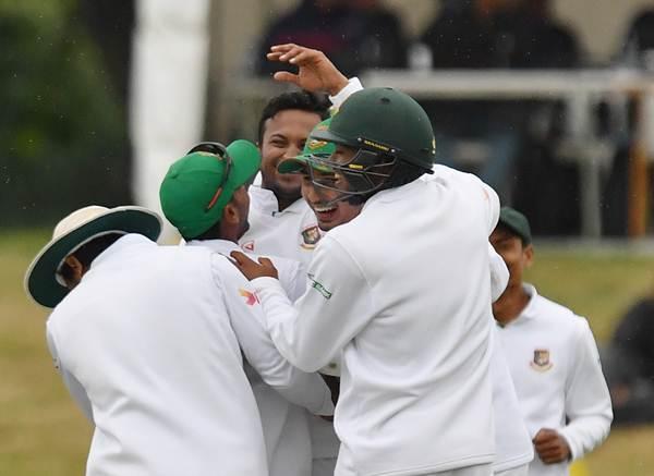 Shakib Al Hasan of Bangladesh v New Zealand