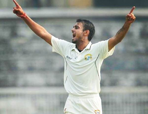 Siddharth Kaul of Rest of India in the Irani Cup