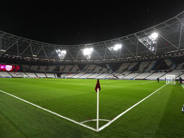 A general view inside the stadium