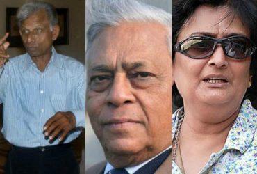 Rajinder Goel, Padmakar Shivalkar, Shanta Rangaswamy