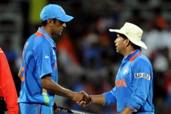 Sachin Tendulkar & Ravichandran Ashwin