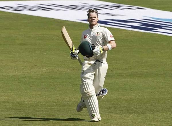 Steve Smith Australia v India
